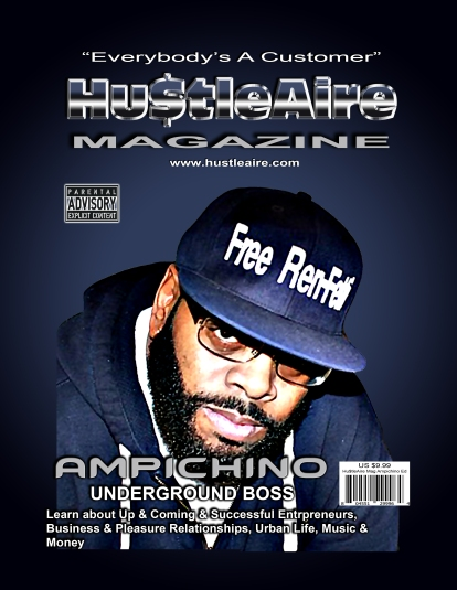 HUSTLEAIRE MAGAZINE AMPICHINO EDITION
